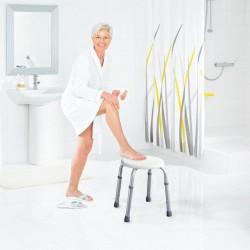 Taboret łazienkowy, biały