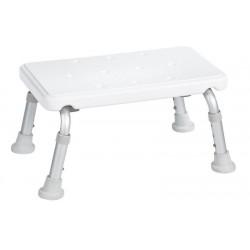 Taboret łazienkowy na nogi, biały