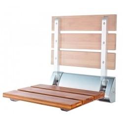 Siedzisko przysznicowe 32x23cm, składane, bambus