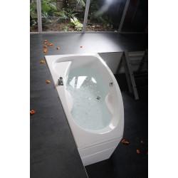 MAMBA 170 L wanna asymetryczna  170x100x44cm, lewa, biała
