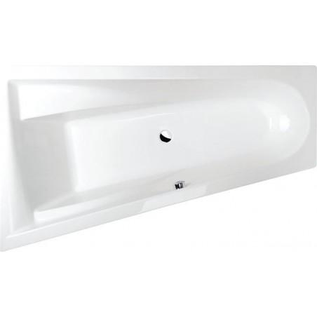 CHIQUITA L wanna asymetryczna 170x100x45cm, lewa, biała