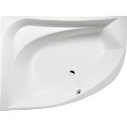 TANYA L wanna asymetryczna 160x120x49cm, lewa, biała