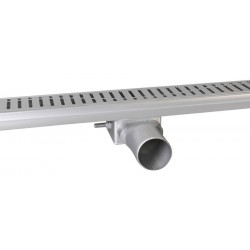 MANUS ONDA nierdzewny odpływ liniowy z rusztem, 1250x130x55 mm