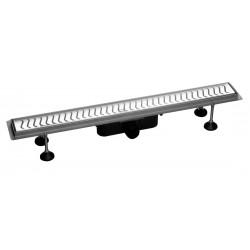 FLUE nierdzewny kanalik z rozstem, długość 630x114mm, wysokość 82mm