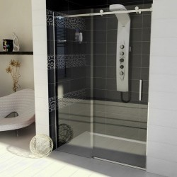 DRAGON drzwi prysznicowe 1500mm, szkło czyste