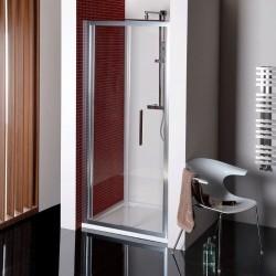 LUCIS LINE drzwi prysznicowe skadane 800mm, szkło czyste