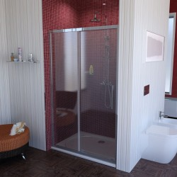 LUCIS LINE drzwi prysznicowe 1100mm, szkło czyste