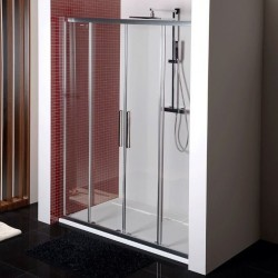 LUCIS LINE drzwi prysznicowe 1500mm, szkło czyste