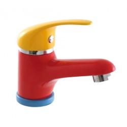 KID bateria umywalkowa bez odpływu, farby/chrom
