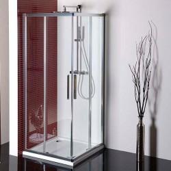 LUCIS LINE kabina prysznicowa narożna 900x900mm, szkło czyste