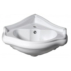 RETRO umywalka narożna 57,5x58cm