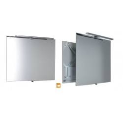 TIRA lustro przesuwne z oświetleniem LED 800x600x54-356mm