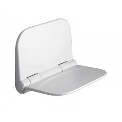 DINO siedzisko prysznicowe, 38x30cm, składane, białe
