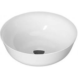 SINGA umywalka kompozytowa, runda, 41,5cm, biała