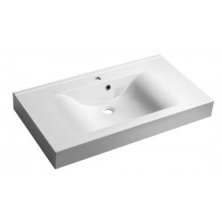 FLAVIA umywalka kompozytowa 90x50cm, biała