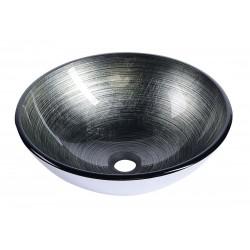 DAMAR umywalka szklana, średnica 42 cm