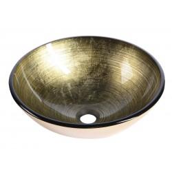 FIANNA umywalka szklana, średnica 42 cm
