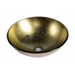SHAY umywalka szklana, średnica 42 cm