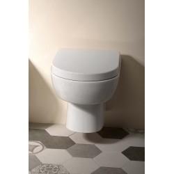 MODIS WC wiszące 52x36cm, białe