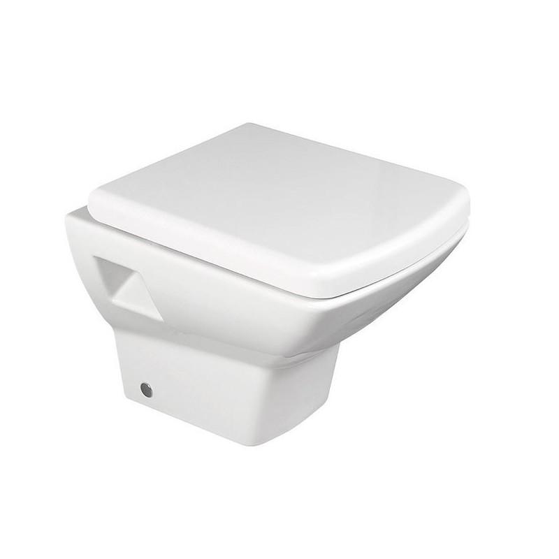 SEKURA WC wiszące 35x50,5cm, białe