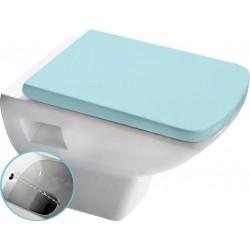 SOLUZIONE WC wiszące 35x50,5cm z prysznicem bidetowym, białe