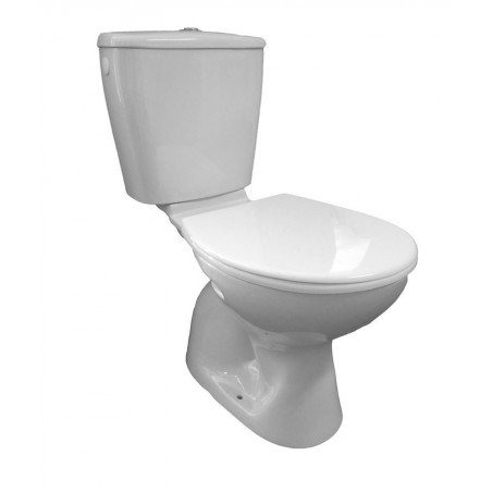 MIGUEL WC kompakt ze spłuczką oraz mech. spłukującym, dolny odpływ (FS1PKW39)