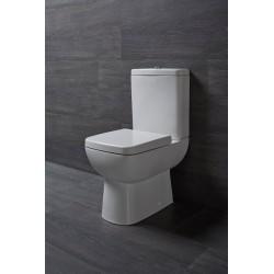 TYANA SHORT WC kombi z deską Soft Close i mech. spustowym., uniwersalny odpływ