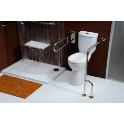Kompakt WC dla niepełnosprawnych 36,3x67,2cm, dolny odpływ