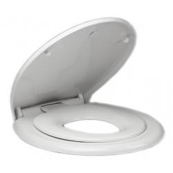 Deska WC ze zintegrowaną deską dla dzieci, soft close, polypropylen