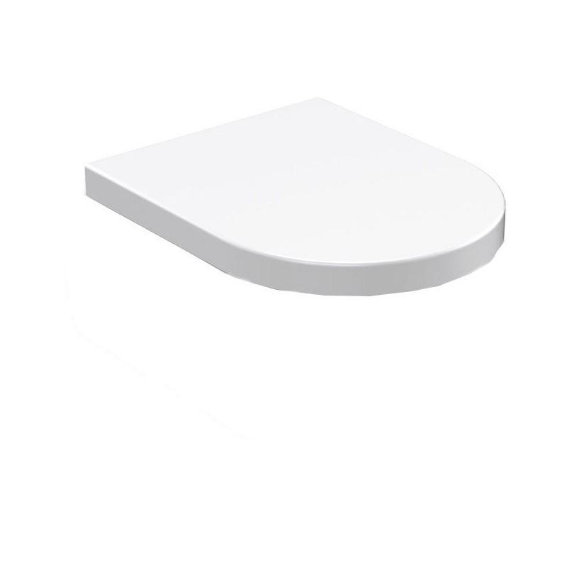 FLO deska WC, termoplast, biała