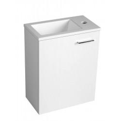 Umywalka kompozytowa 40x22cm, biała