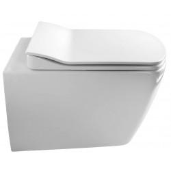 GLANC WC miska podwieszana, rimless