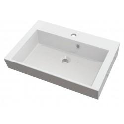 ORINOKO umywalka 60x45cm, kompozyt, biała