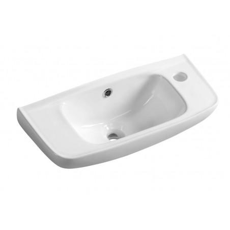 Mała umywalka ceramiczna 51x22 cm (3020)