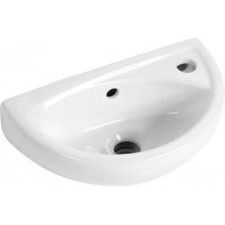 OVAL umywalka ceramiczna 39x23cm