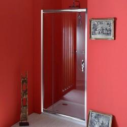 SIGMA drzwi prysznicowe obrotowe 890-1030 mm, szkło czyste