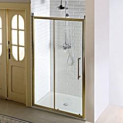 ANTIQUE drzwi prysznicowe, posuwne, 1200mm, szkło czyste, brąz