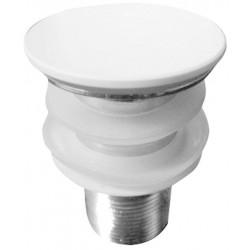 THIN korek do umywalki 1'1/4, biały matowy, system Click Clack