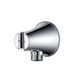 DREAMART Przyłącze kątowe z uchwytem prysznica, chrom