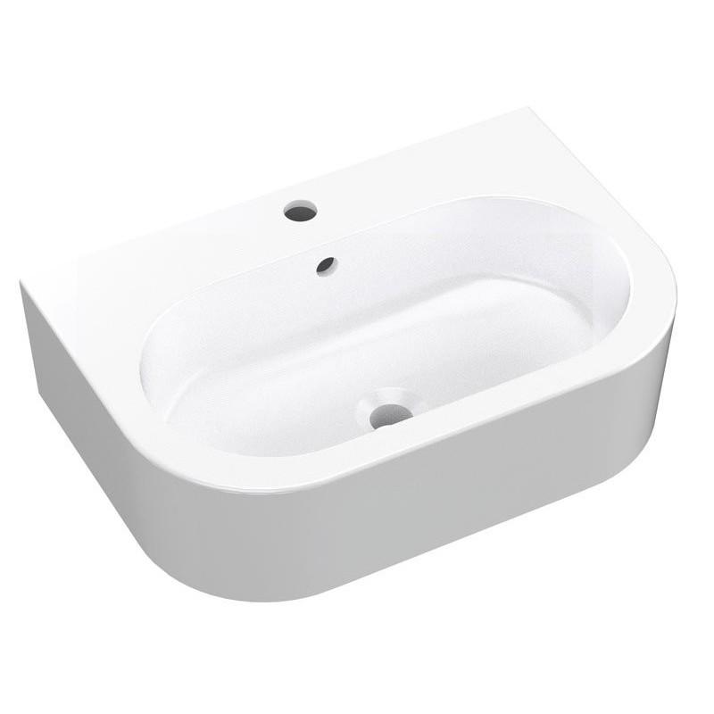 FLO umywalka ceramiczna 60x42cm
