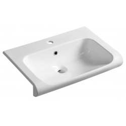INKA umywalka ceramiczna 60x40cm, biała