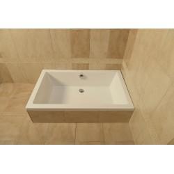 DEEP brodzik prysznicowy głęboki 130x75x26cm, biały