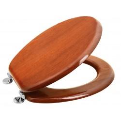 AQUALINE deska WC, HDF, orzech