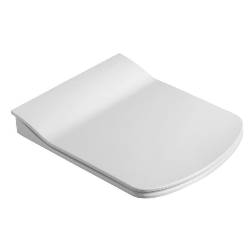 GLANC deska WC SOFT CLOSE, białe