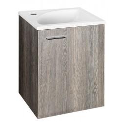 ZOJA szafka umywalkowa 40x50x32cm, mali wenge