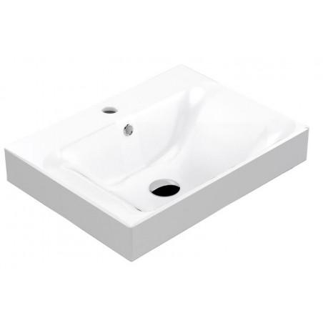 CENTO umywalka ceramiczna 60x45cm, głęboka
