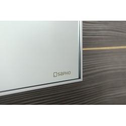 AROWANA Lustro w ramie, 1000x500mm, chrom