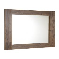 BRAND lustro 100x80x2cm, świerk bejcowany