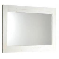 BRAND lustro 100x80x2cm, starobiałe