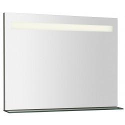BRETO lustro z półką z oświetleniem LED 800x608mm